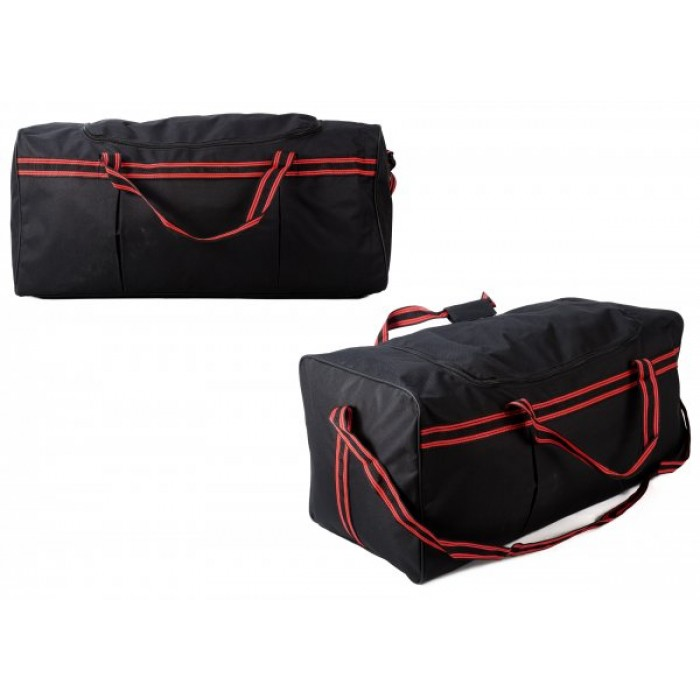 TB-105 RED HOLDALL W/ SHOULDER STRAP £4.25