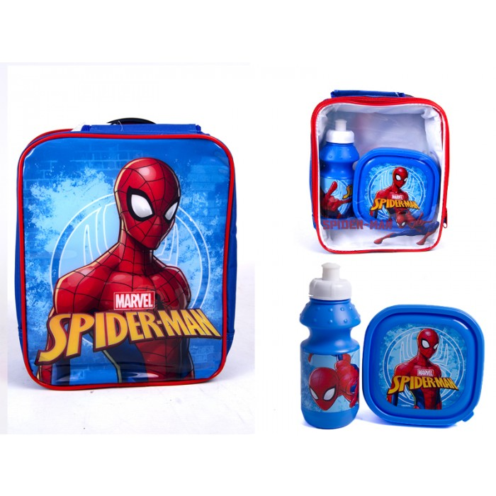 4105v-7692 spiderman lunch set