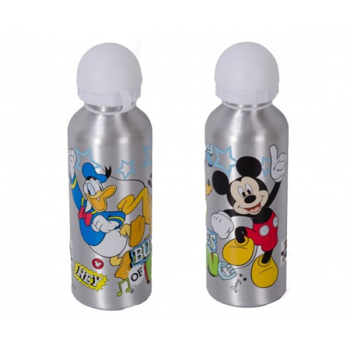 4020-7715M ALUMINIUM WATER CANTEEN MICKEY 500ML