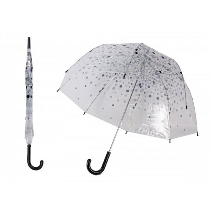 JBUB10-SPOT BLACK UMBRELLA