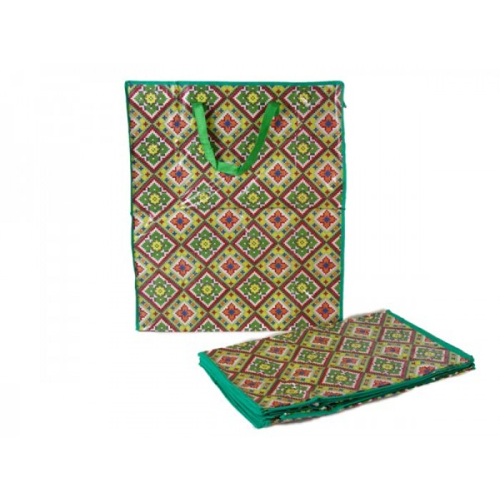 0009- GREEN MOSAIC SET OF 12