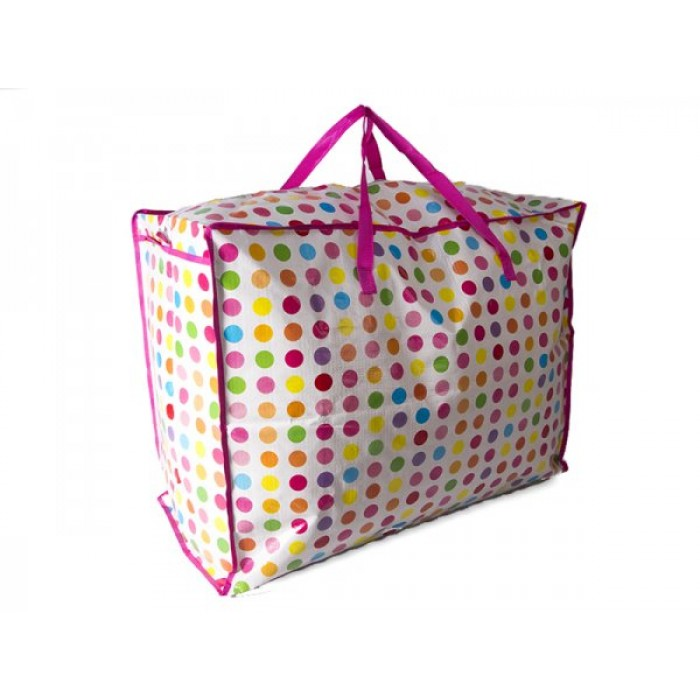 JBLND01 MULTI POLKA LARGE LAUNDRY BAG