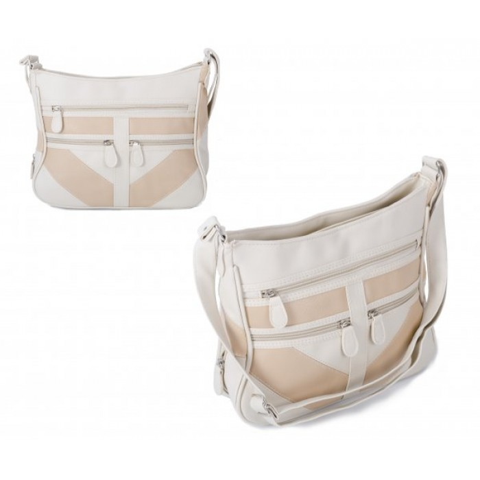JBHB2545 BEIGE SHOULDER BAG