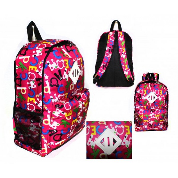 2613 PINK MICKEY MOUSE BACKPACK