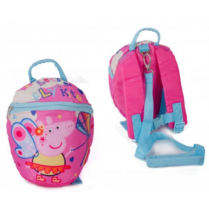 00387 PEPPA PIG FAMILY FESTIVAL FUN REINS BACKPACK