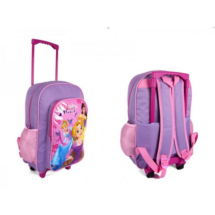 1019HV-7124T HEART STRONG PRINCESSES TROLLEY BACKPACK