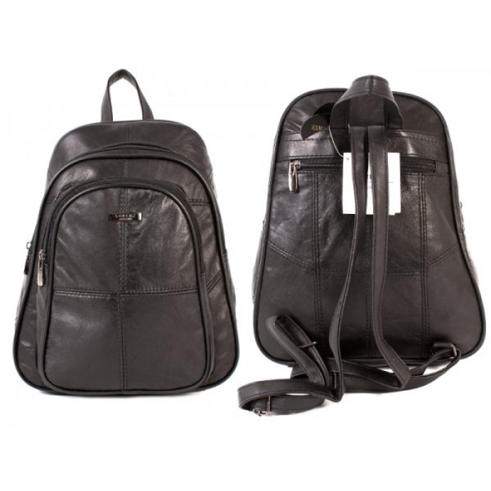 1958 BACK NAPPA BACKPACK 2 FRONT ZIPS