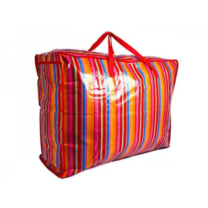JBLND01 ORANGE STRIPES LARGE LAUNDRY BAG