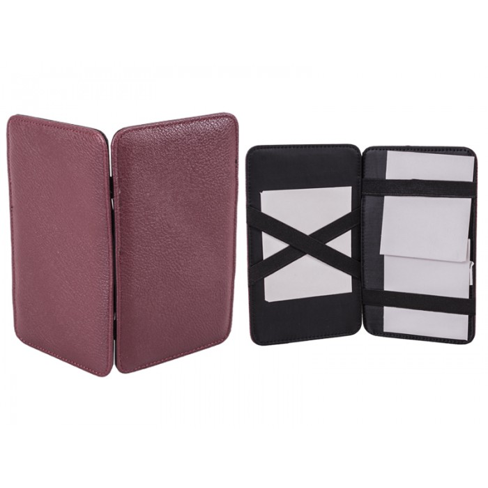 8013 CASH HOLDER BURGUNDY
