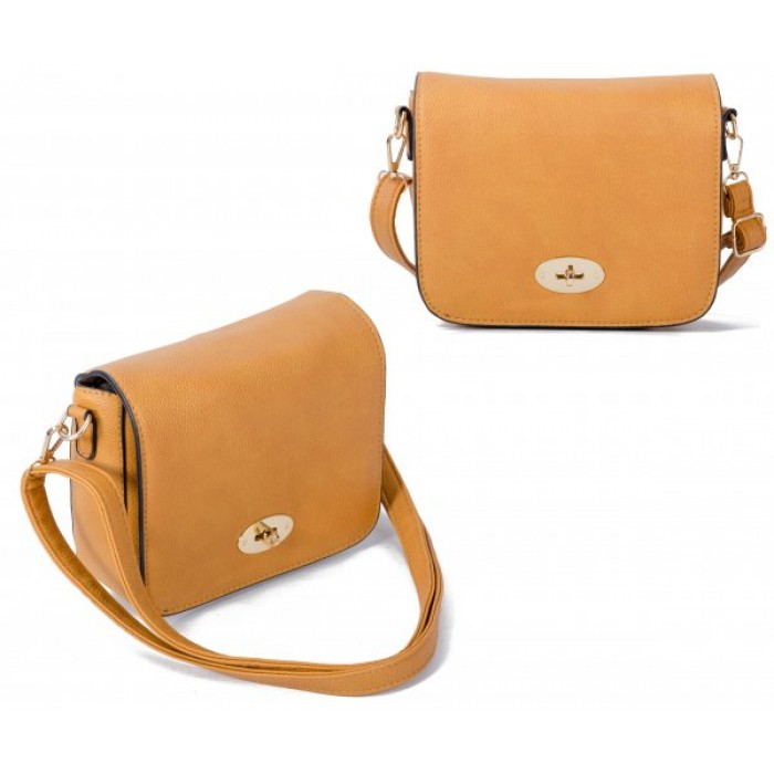 JBFB241 MUSTARD CROSS BODY PU BA