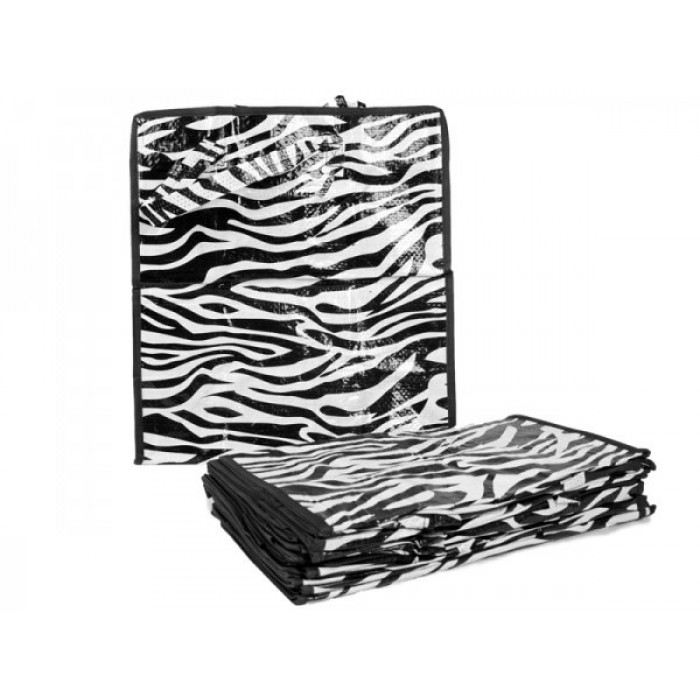 0007- ZEBRA PRINT SET OF 12