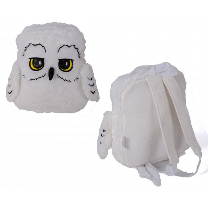 00737 HARRY POTTER HEDWIG PLUSH BACKPACK