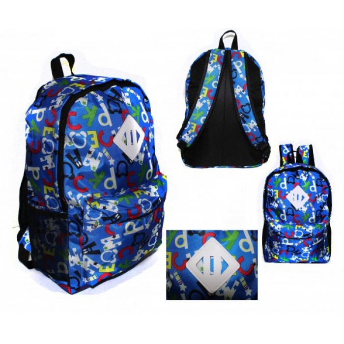 2613 BLUE MICKEY MOUSE BACKPACK