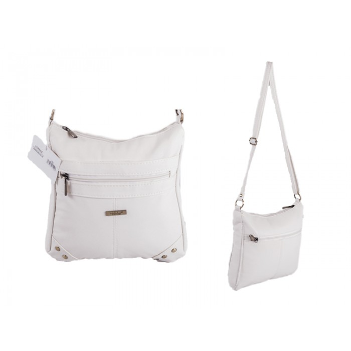5861 WHITE PU BAG