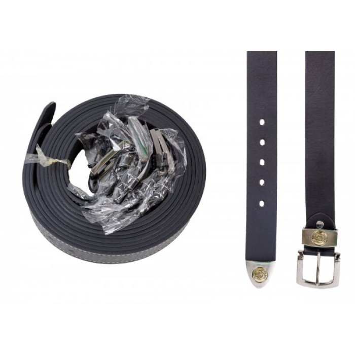 "2752 DOZEN 1.5"" MILANO BLACK BELT WITH TIP"