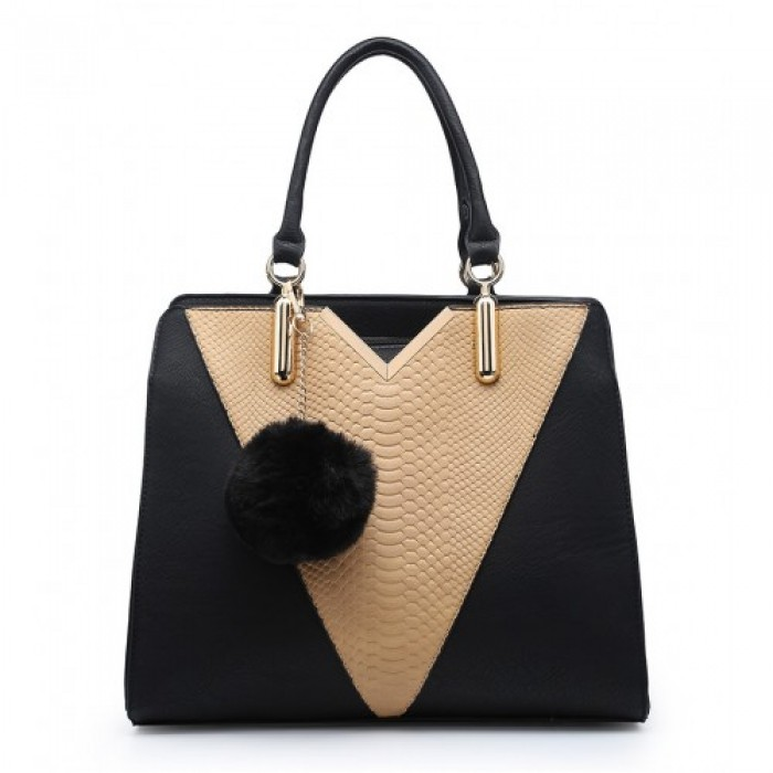 A34481 SHOULDER BAG -BLACK
