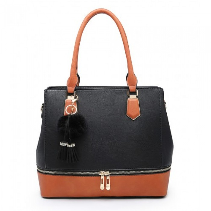 A36201 SHOULDER BAG -BLACK