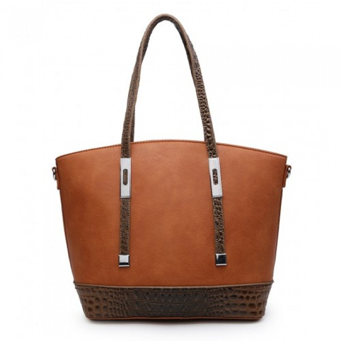 A36470 Handbag-Brown