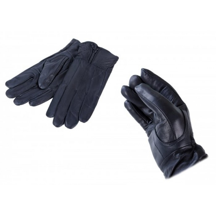 LG-010 LARGE BLACK LEATHER GLOVES