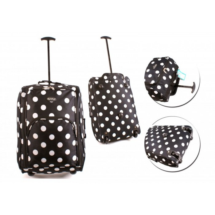 CTB-3P POLKA DOT CABIN TRAVEL BAG