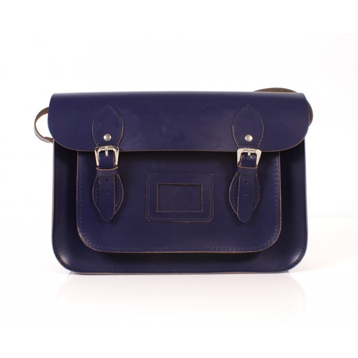 BL13 PURPLE MAGNET SATCHEL