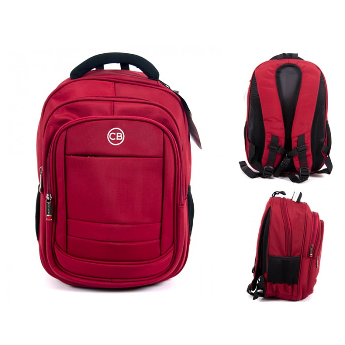 "BP-830 RED 15.6"" LAPTOP TRAVEL CABIN SIZE BAG"
