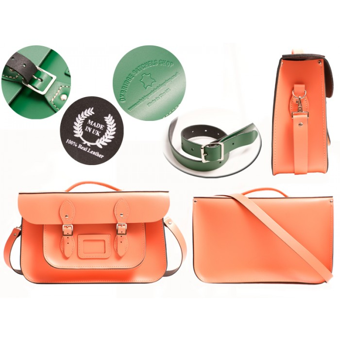 15 CORAL REEF OXBRIDGE BRIEFCASE SATCHEL