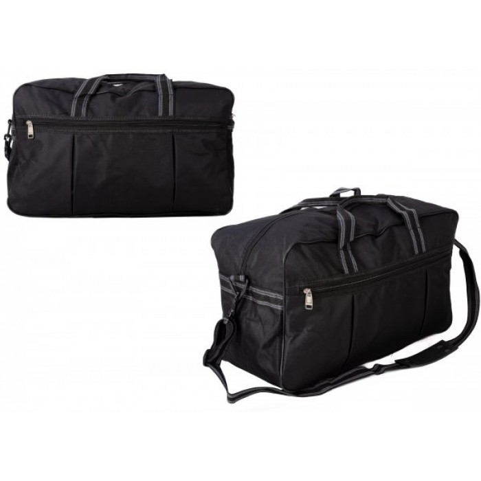 TB-103 GREY HOLDALL W/ SHOULDER STRAP