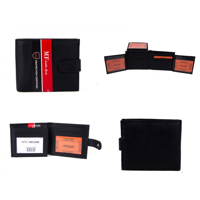 DM 4 100% LEATHER RFID WALLET