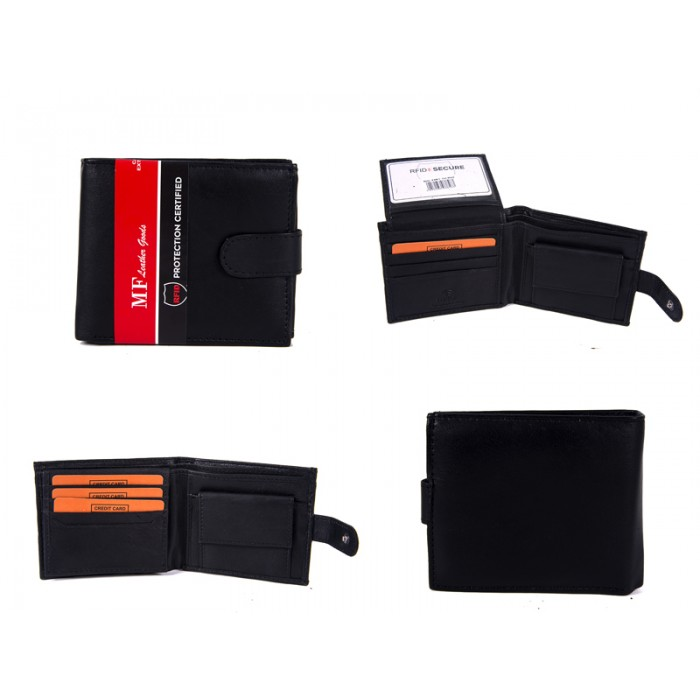 DM 7 100% LEATHER RFID WALLET