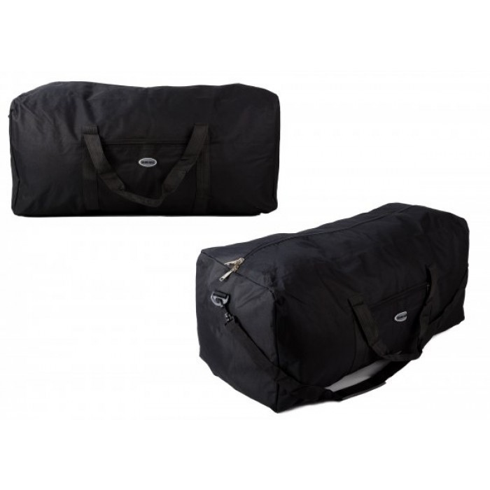 TB-105 BLACK HOLDALL W/ SHOULDER STRAP £4.25