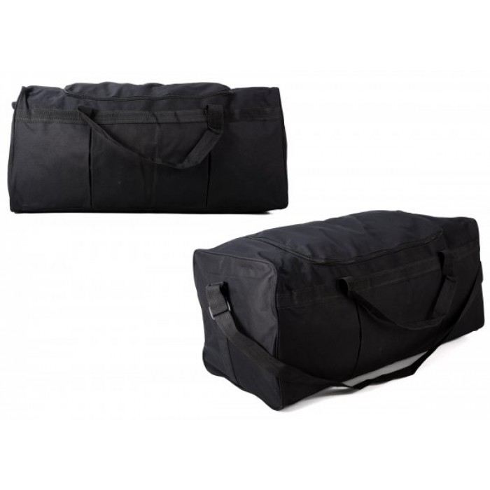 TB-106 BLACK HOLDALL W/SHOULDER STRAP £4.25