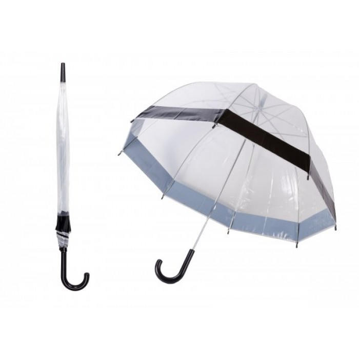 JBUB10-BLACK BAND UMBRELLA