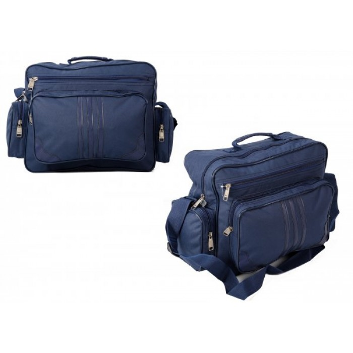TB-100 NAVY HOLDALL W/ 3 POCKETS £4.25