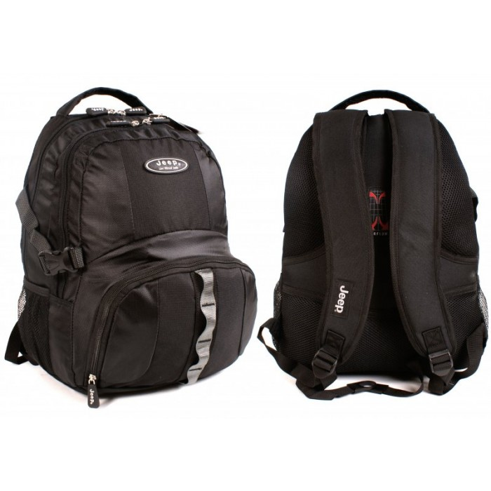 PH-802 BLACK JEEP BACKPACK - A040