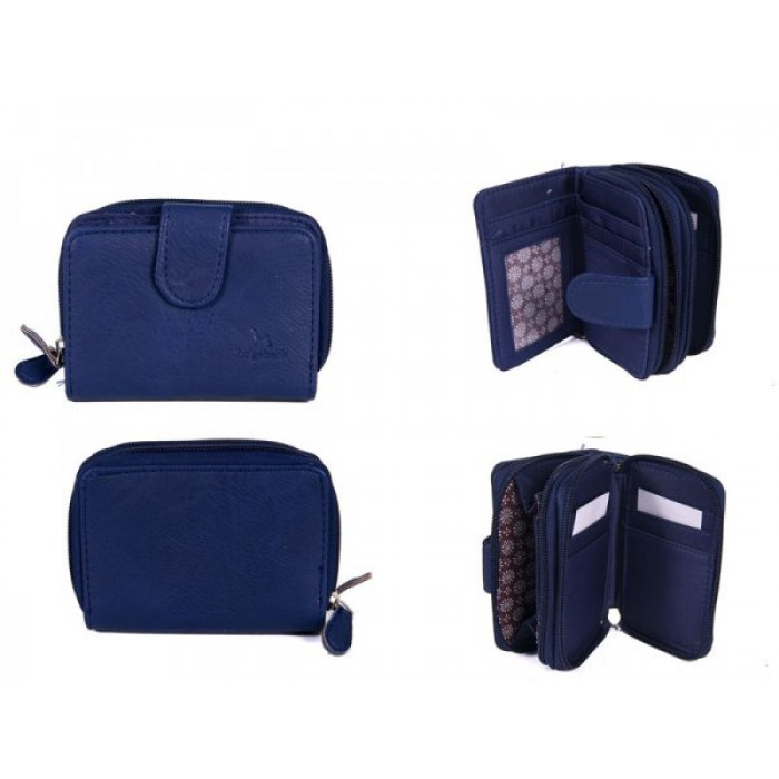 : JBPS121 NAVY PURSE WITH POP FRON