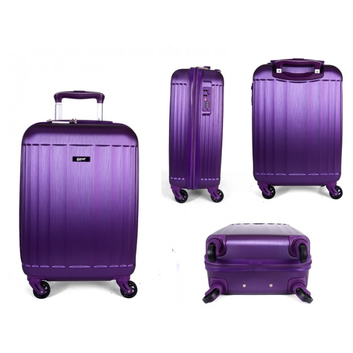 "EV-416 PURPLE 19"" IATA CABIN SIZE TROLLEYS"