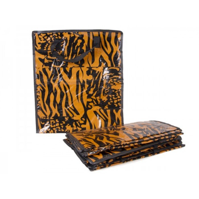 PP15 TIGGER PRINT SHOPPING BAG SET OF 12