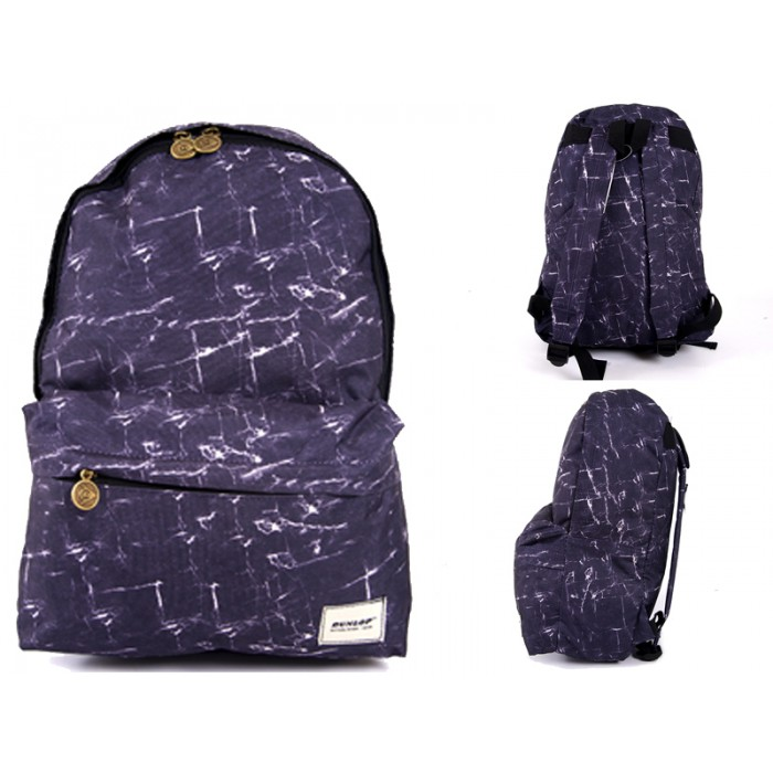 2110092 Dunlop Navy/Marble Backpack