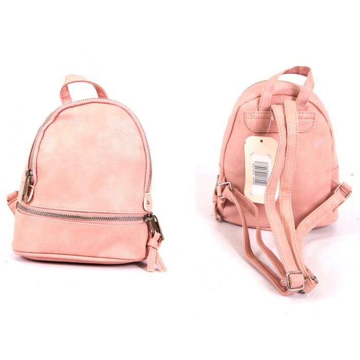JBFB200 DUSKY PINK PU SMALL BACKPACK