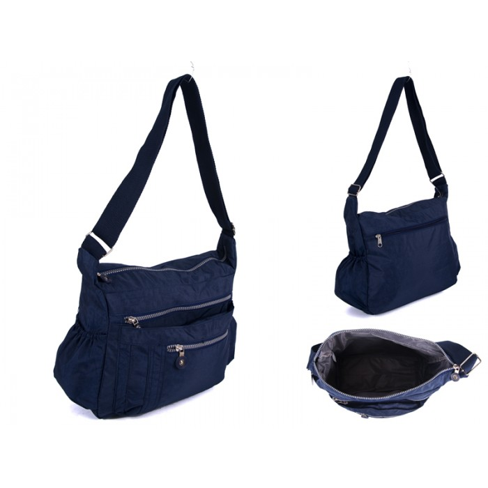 JBNHB20 NAVY XBODY WITH 5 ZIPS AND TWO SIDE POCKETS