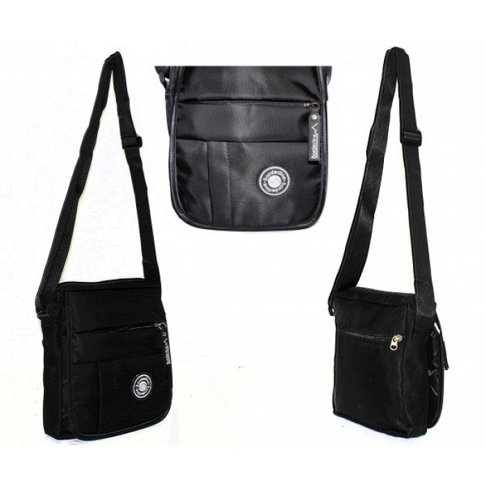 JBMB03 BLACK ACROSS BODY BAG