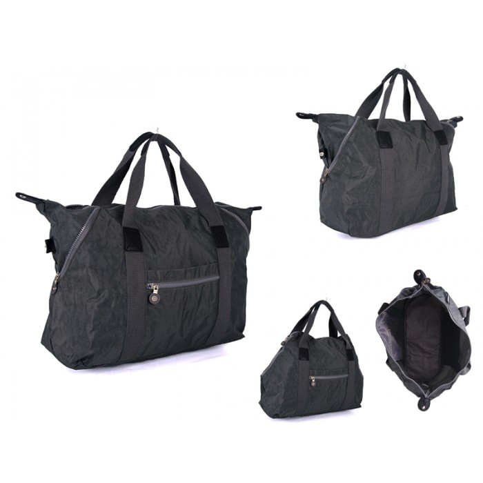 JBNHB22 GREY CANVAS BAG