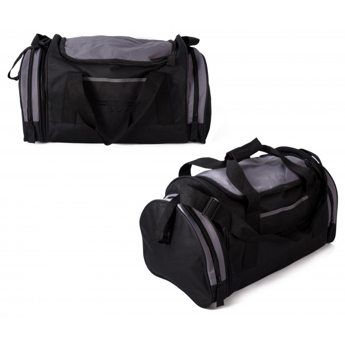 JBSB07 BLACK AND GREY HOLDALL