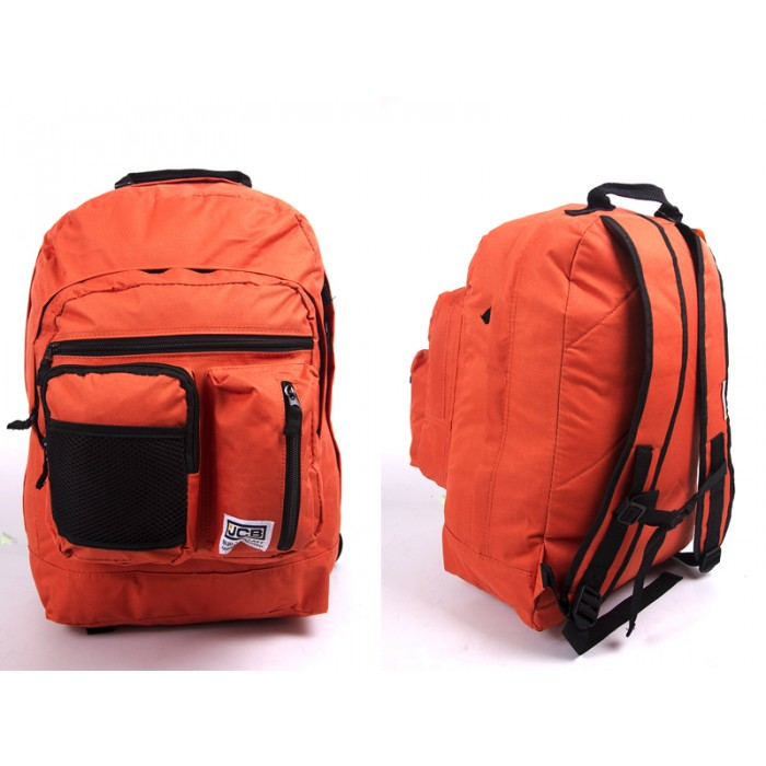 JCBBP60 ORANGE BACKPACK 5 ZIPS