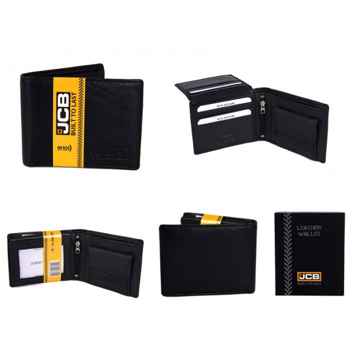 JCBNC 51-BLACK RFID WALLET PROTECTED