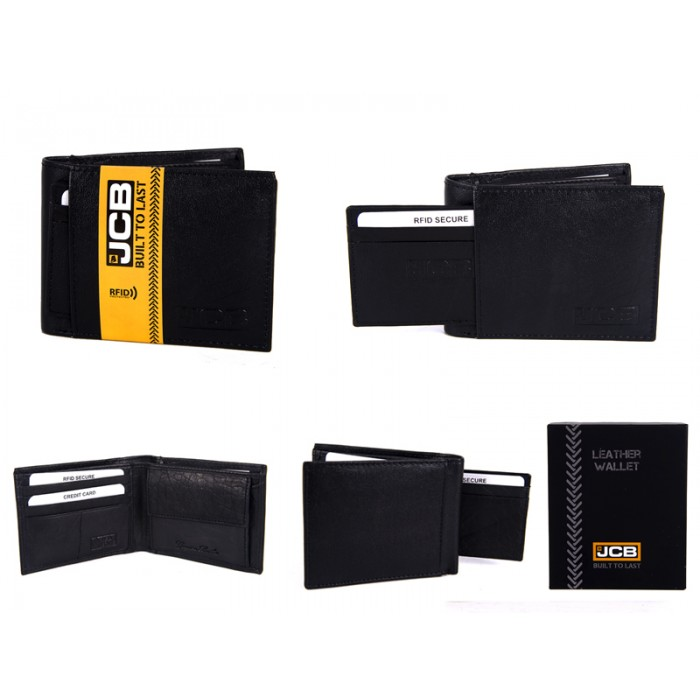 JCBNC 52-BLACK RFID WALLET PROTECTED