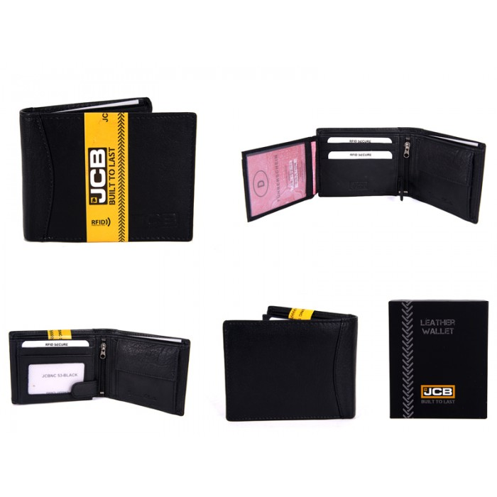 JCBNC 53-BLACK RFID WALLET PROTECTED
