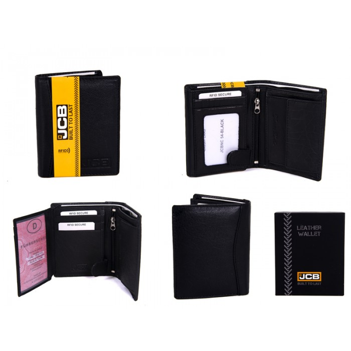 JCBNC 54-BLACK RFID WALLET PROTECTED