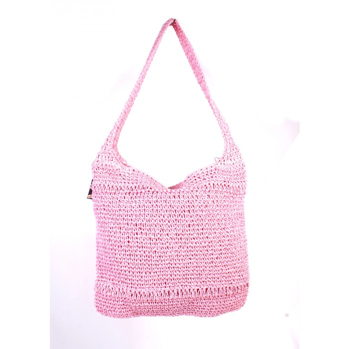 KNIT SHOPPER PINK
